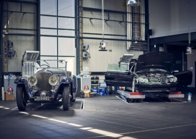 Aufbereitung Oldtimer Sportwagen Kfz-Service Werkstatt Autos
