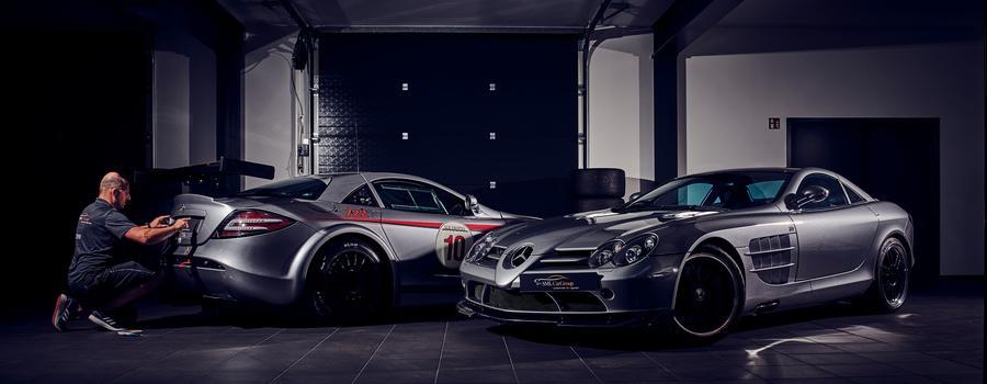 Mercedes-Benz Stern AMG Shooting DTM Legenden Sportwagen Rennwagen